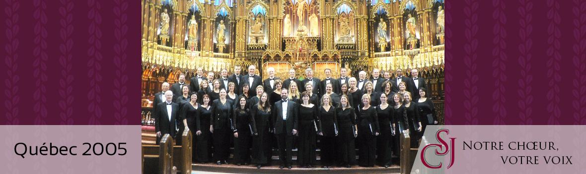 CSJ in Quebec 2005