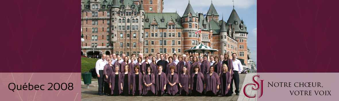 CSJ in Quebec 2008
